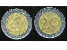 ALGERIE  ALGERIA 20 dinars 2007  ANM  ( bis )