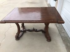 Large Antique Table (Solid Wood)
