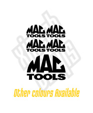 Mac Tools vinyl sticker decal set car toolbox garage mechanic - window optional
