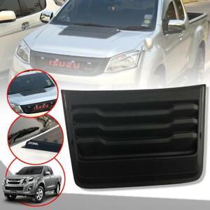 Bonnet Hood Scoop Vent Matte Black Fit Isuzu D-max Dmax Holden Pickup 2012-2018