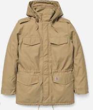 Carhartt WIP X' Hickman Coat, Leather Rinsed, XS