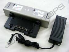 Nuevo HP Compaq NX6320 NX6325 NX7400 Básico Estación De Acoplamiento Replicador de puertos Inc PSU