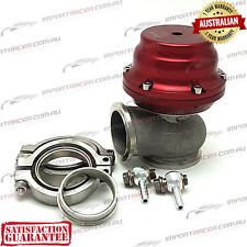 44MM V BAND WASTEGATE RED 14PSI TiAL STYLE V44 Air Cooled 1 Year Warranty