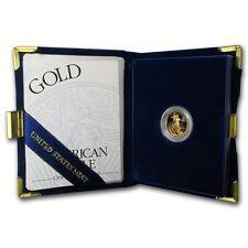 1998-W 1/10 oz Proof Gold American Eagle (w/Box & COA) - SKU #4929