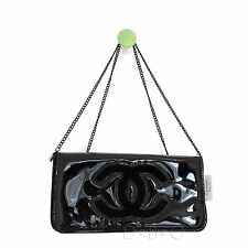 Chanel Beauty Vip Gift clutch cross body bag in Black with black cc logo