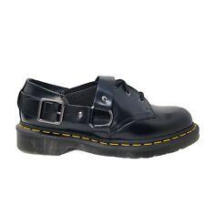Dr Martens Fenimore Low Single Buckle Platform Black Shoe Size US 7M /8L AW004