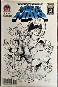 MEGA MAN COMIC BOOK #9 CONVENTION EXCLUSIVE March 2012 DR WILY VF+