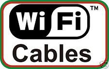 Hp Compaq Presario V6000 Wifi ariels Inalámbrico Antenas + Cables