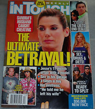 In Touch Weekly March 29 2010 Sandra Bullock Kirstie Alley Lady Gaga Mario Lopez