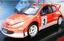 SOLIDO 203 795 PEUGEOT 206 WRC model rally car MONTE CARLO 2003 R Burns 1:18th