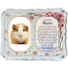 Hamster Memorial Double Frame - Bereavement, Tribute, Gift Plaque, Photo, RIP