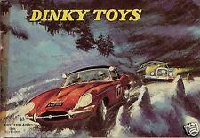 ORIGINAL CATALOGUE DINKY TOYS MECCANO 1962 48 PAGES + 4 pages prix BON ETAT