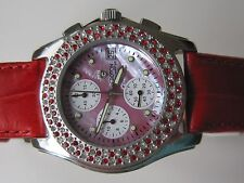 Croton Chronomaster STSTL Watch for Woman red