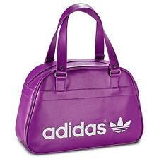 nwt~ADIDAS ORIGINALS RETRO GYM GOLF BOWLING BAG tote duffel carry-on PURPLE