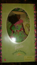 New In Box Special Edition Mattel Barbie Doll Simply Charming African American