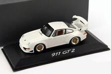 Porsche 911 (993) gt2 Evo Street blanc 1:43 Minichamps
