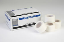 12 x 1.25cm x 10m Hypo allergenic  Sterotape Microporous - Soft Surgical Tape