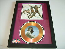 JAMES BROWN    SIGNED  GOLD CD  DISC