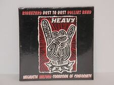 Megadeth Halford Rollins Band Biohazard PROMO CD  Corrosion of Conformity Sealed