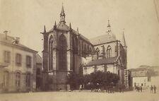 Remiremont Vosges France Vintage albumine ca 1890