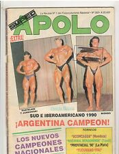 Super Apolo Muscle Magazine Jankowski Argentina Magazine Spanish Text #262