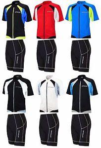 AIRTRACKS Fonctions Vélo Set De : Pantalon Cyclisme Court Pro + Maillot Manches