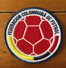 Colombia National Team Soccer Iron On Jersey Patch James Seleccion White Men Cap