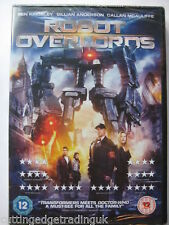 Robot Overlords DVD (2014) Gillian Anderson NEW SEALED Region 2 PAL