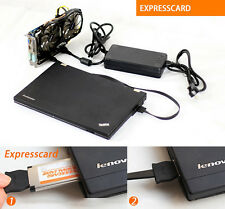 EXP GDC Laptop External Independent Video Card Expresscard Dock With Adapter