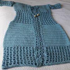 Women crochet off the shoulder dress