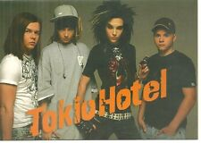 RARE / CARTE POSTALE - POSTCARD : TOKIO HOTEL / COMME NEUF - LIKE NEW