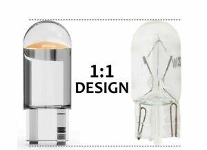 6x T10 w 5w LED Lampe kalt weiß  Innenraum Glassockel 12V Licht