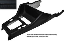 BLACK LEATHER GEAR SURROUND LEATHER SKIN COVER FITS BMW 3 SERIES E30 84-91