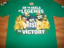 "Notre Dame Football 2013 ""The Shirt"" We Rise To Victory Green T-Shirt Child 5T"