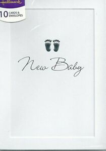 Hallmark New Baby Announcement Cards Pack Of 10