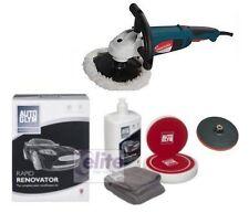 Silverline Profesional Rotary Pulidor-Autoglym rápida Renovador polishing kit