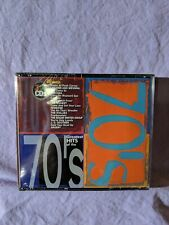 Greatest Hits of the 70's by Various (CD, 2001, 3 Discs, Sony Music Records) Box