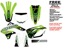 DFR BLEND GRAPHIC KIT GREEN 06-08 KAWASAKI KX450F KX 450F KXF450