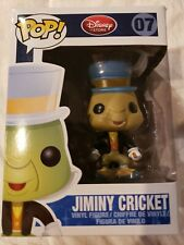 Disney Funko Pop Jiminy Cricket 07 Vaulted brand new