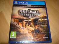 RAILWAY EMPIRE ** NEW & SEALED ** Sony Playstation 4 Ps4 Game