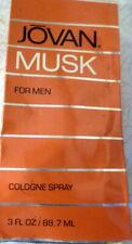 JOVAN MUSK FOR MEN 3oz 88ML COLOGNE Spray For MEN NEW IN BOX