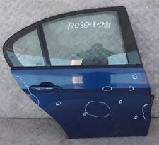 BMW 3 er E90 E90 LCI Beifahrer Tür hinten rechts Le Mans Blau Metallic 381