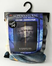 Supernatural Season 15 Let The End Times Roll Soft Fleece Throw Blanket New Nsip