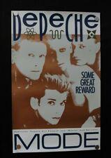 "Depeche Mode ""Some Great Reward"" Poster 14 x 24"
