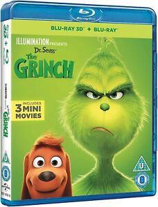 The Grinch (3D + Blu-ray) Brand New Sealed