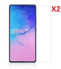 (2 Pack) Tempered Glass Screen Protector For Samsung Galaxy S10 Lite