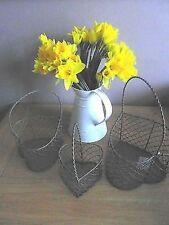 Metal Vintage/Retro Decorative Baskets