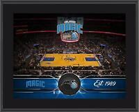 """Orlando Magic 10"""" x 13"""" Sublimated Team Stadium Plaque - Fanatics"""
