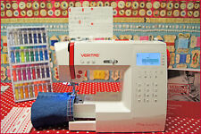"""VERITAS Computer-Nähmaschine """"Marion"""" mit automatischem Fadenabschneider LCD"""