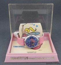 Tinkerbell Character Watch by Rouan w/ Mystery Dial and in Original Box c.1969
